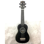 B-GRADE Tiger Soprano Ukulele in Black with Bag