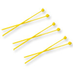 3 Pairs of Plastic Head Beaters for Glockenspiel