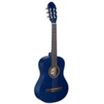 Stagg 3/4 Beginners Classical Guitar - Blue FInish with Nylon Strings