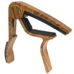 Tiger Capo for Classical Guitar - Dark Wood Finish