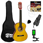 Childrens Classical Guitar Kids Pack 1/4 Size with Free Tuner