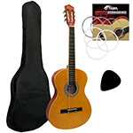 Tiger 4/4 Size Classical Spanish  Guitar Beginners Complete  Kit