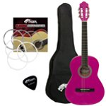 Jasmin Left Handed 3/4 Pink Classical Guitar Package