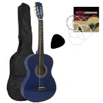 Tiger Blue 3/4 Size Classical Guitar Package