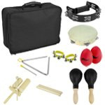 Package of Percussion Instruments with Handy Carry Bag