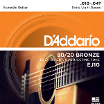 D\\'\\'Addario Bronze Acoustic Guitar Strings