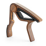 Tiger Guitar Capo in Wood Finish - Trigger Capo