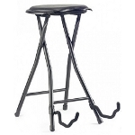 Folding Bar Stool & Guitar Stand