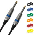 Tiger 6m (20ft) 6.3mm (1/4 inch) Jack to Jack Instrument Cable