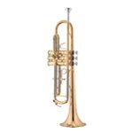 Jupiter Rosebrass Bb Trumpet with Case