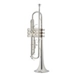 Jupiter Silver Plated Bb Trumpet