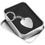 Engraved Guitar Pick Keyring - Metal Plectrum & Gift Box - Guitar Engraving