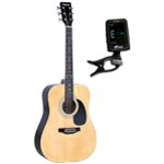 Falcon Left Handed Acoustic Guitar with FREE tuner