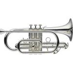Levante by Stagg Bb Silver Cornet Outfit