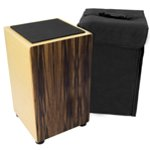 Black Sandalwood Cajon with Bag