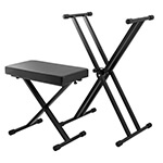 Mad About Deluxe Keyboard Stand & Bench Package