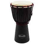 40cm Student Wooden Djembe Drum by World Rhythm Percussion – African Drum in Black