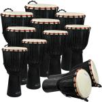 World Rhythm 11 Player Economy Djembe Pack
