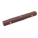 Theodore Wooden Conductor's Orchestra Baton Case - Red - 44cm Internal Length