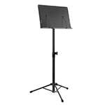 Mad About Orchestral Sheet Music Stand with Page Retainers and Tripod Base