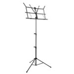 Tiger Black Portable Folding Sheet Music Stand