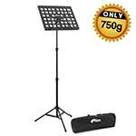 Tiger Lightweight 0.75kg Music Stand & Carry Bag – Portable Stand