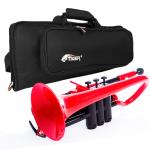 pCornet Red Plastic Cornet and Padded Bag Pack