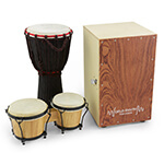 World Rhythm 3 Player School Drumming Pack