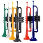 pTrumpet Colourful Bb Plastic Trumpets