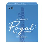 Royal by D\\'\\'Addario Bb Clarinet Reeds - Box of 10