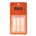 Rico by D\\'\\'Addario Soprano Saxophone Reeds - Pack of 3
