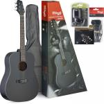 Stagg Starter Black Acoustic Guitar Pack