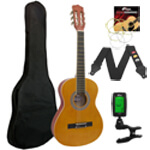 Tiger 4/4 Size Classical Guitar - School Pack