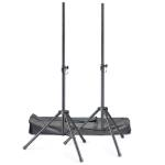 Stagg Set of 2 Speaker Stands - Including Nylong Carry Bag