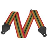 Guitar Strap in Reggae Design