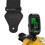 Tiger Guitar Strap and Tuner Pack