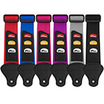 Guitar Straps with Plectrum Holders