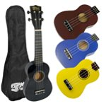 Mad About Left Handed Soprano Ukulele for Beginners with Bag