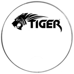 Tiger Clear Bass Drum Heads