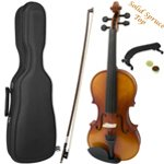 Theodore Premium Series 4/4 Size Violin with Black Case