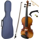 Theodore Premium Series 3/4 Size Violin with Blue Case