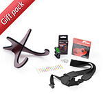 Christmas Ukulele Accessory Bundle by Tiger