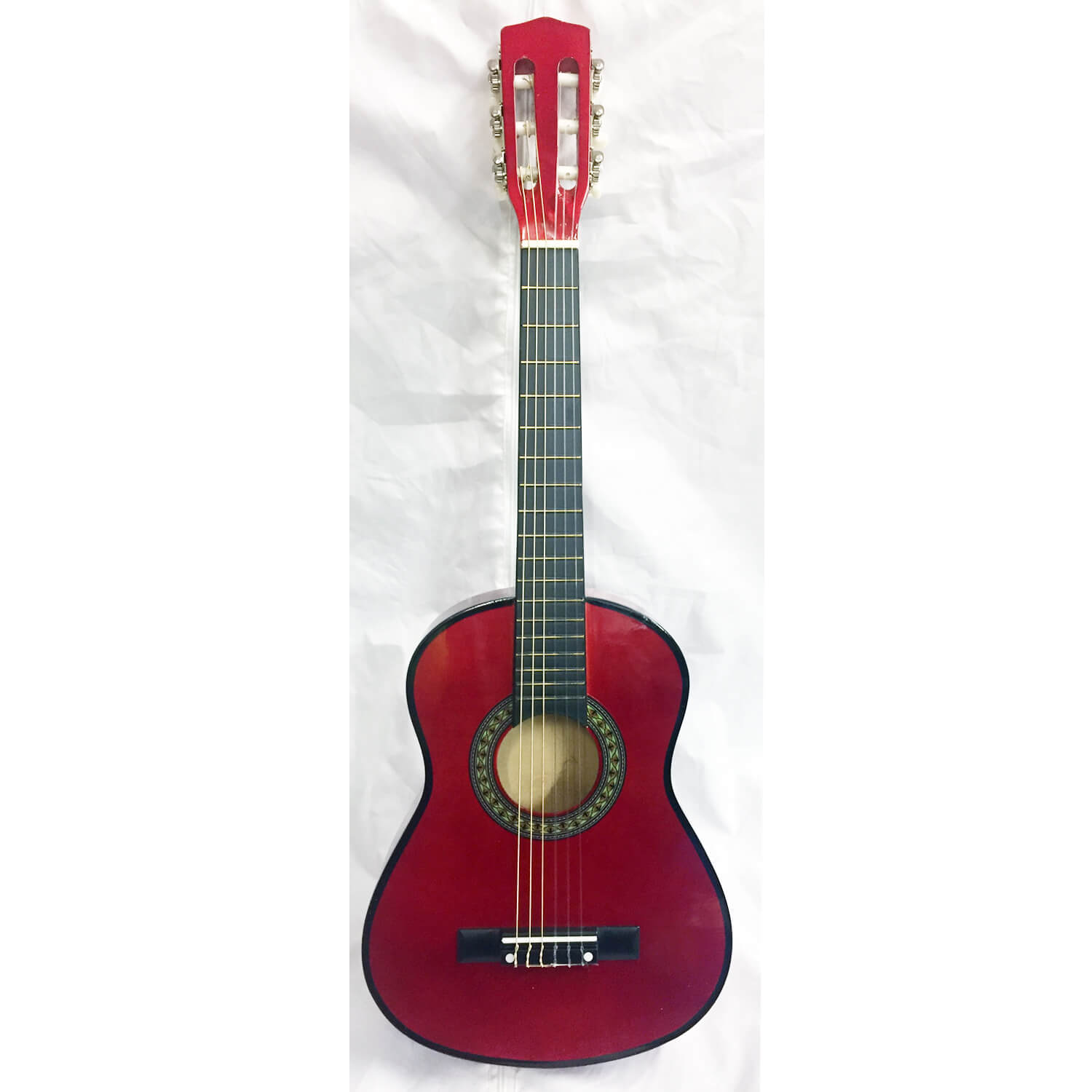 B GRADE Tiger 1/4 Size Classical Guitar  - Red