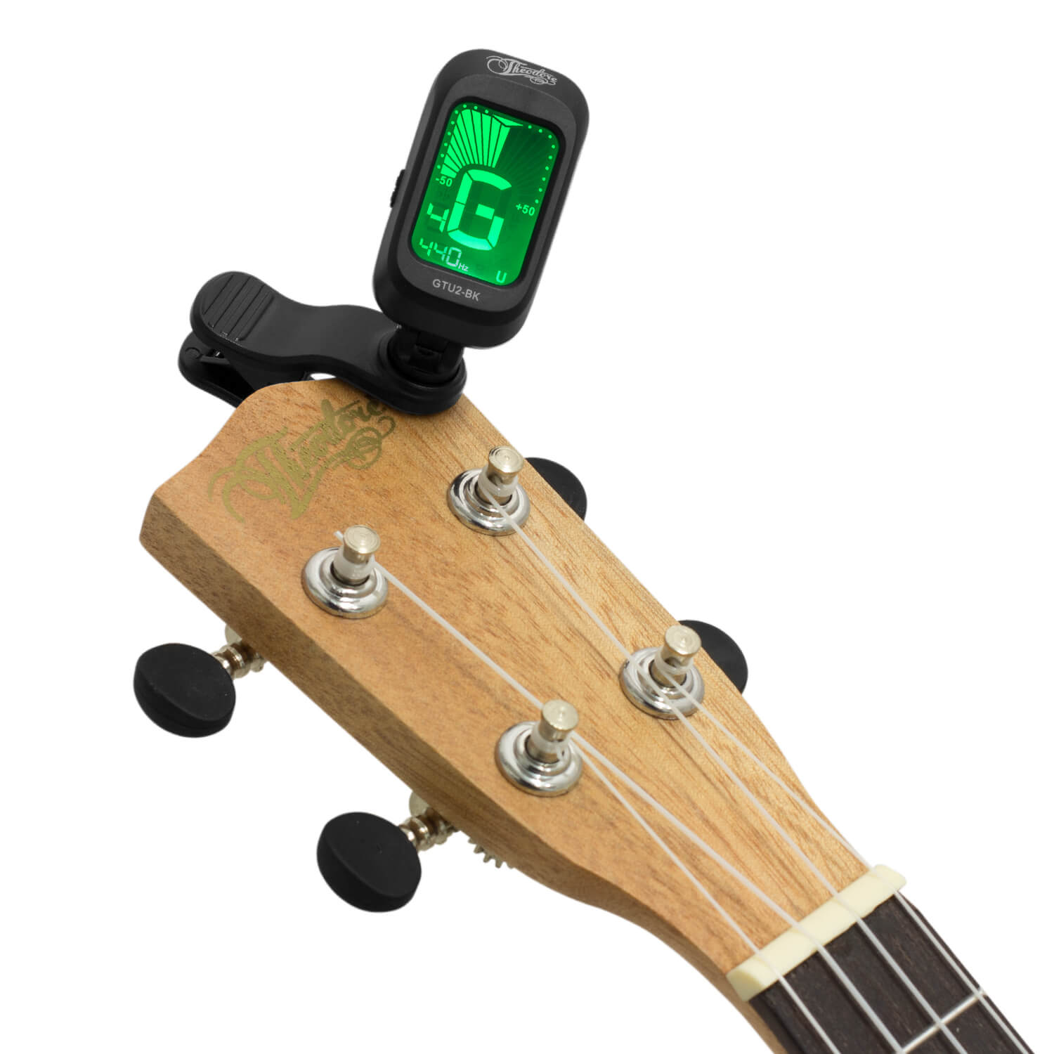 Clip On Guitar Tuner >> Theodore Chromatic Clip On Guitar Tuner