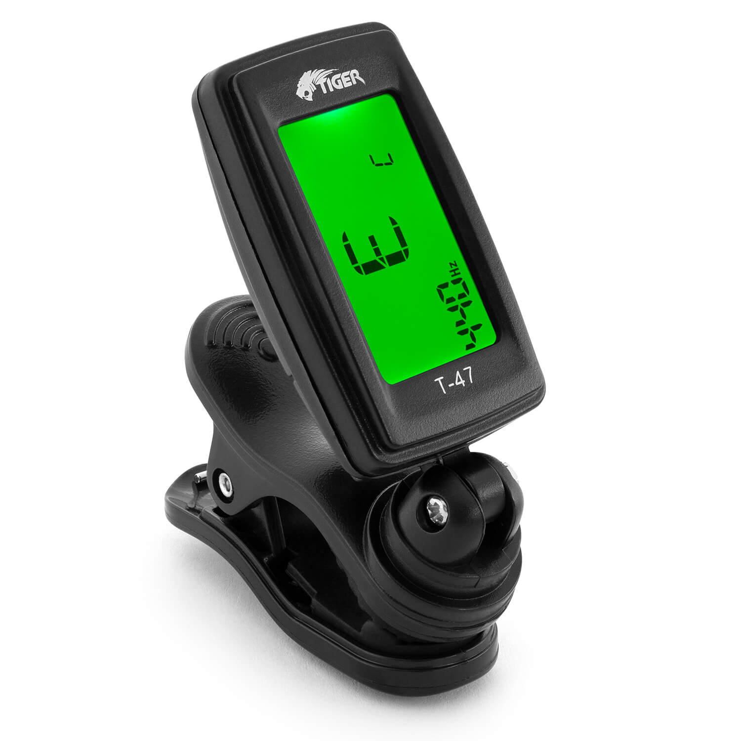Clip On Guitar Tuner >> Tiger T 47 Guitar Tuner Clip On Chromatic Tuner