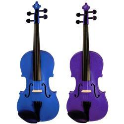 Harlequin Coloured Viola Outfits