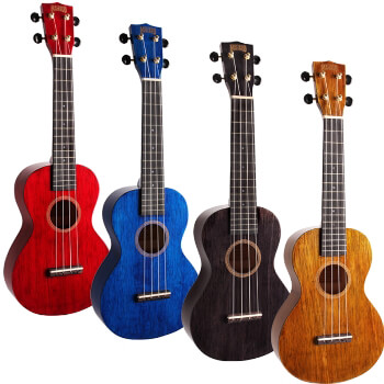Mahalo 2516 - MH2 Hano Concert Ukuleles - Aquila Strings  and FREE Carry Bag