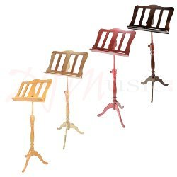 Wooden Music Stand - Baroque Style