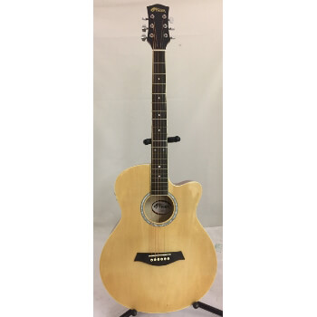 B-GRADE Tiger Electro Acoustic Guitar - Natural