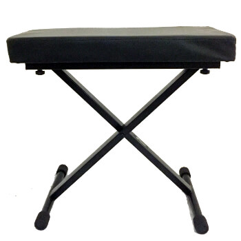 B-GRADE Tiger Keyboard Stool - Folding X Frame